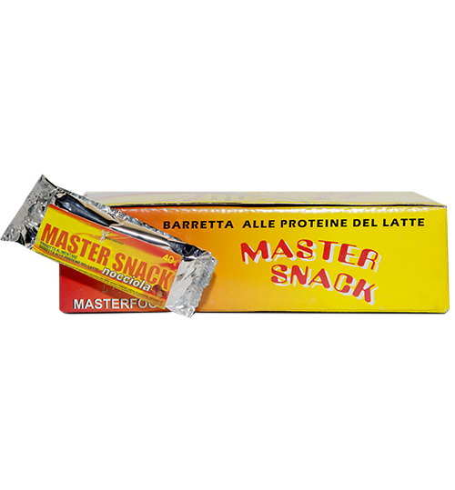 Master Snack  40 Grammi 24 Barrette