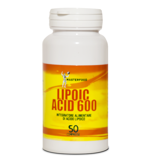 Lipoic Acid 600 50 Compresse