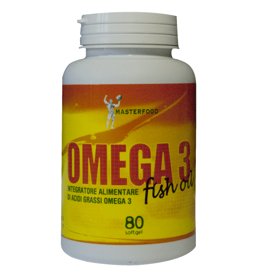 Omega 3 Fish Oil 80 Softgel